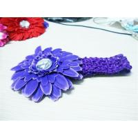 Cheap Crochet Headband With Flower for sale