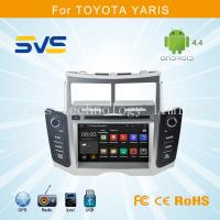 Cheap Android 4.4 car dvd player GPS navigation for Toyota Yaris 2005-2011 car stereo quad core for sale