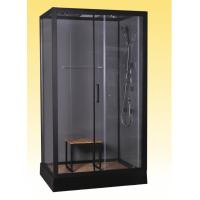 Cheap 1200x800x2150mm Rectangular Shower Cabins 15.5cm Tray for sale