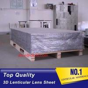 Cheap 3D Lenticular sheet 40LPI board 120x240cm, 3.95mm lenticular sheet for 3d and flip lenticular effect by injekt print for sale