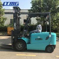 Cheap Material Handling 5 Ton Electric Forklift Truck Battery Operated 1 Year Warranty for sale