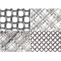 Cheap 2mm Diameter Decorative Wire Mesh / Screen Metal Mesh For Home 200 Mesh for sale