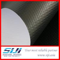 China PVC Flex Banner with Grey Backing on sale