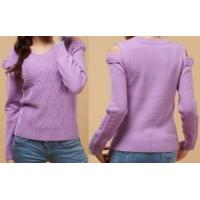 Cheap Lady Fashion Knitted Pullover Sweater/Garment (ML1229) for sale