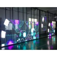 Cheap Outdoor Transparent LED Display P3.91-7.82 1920Hz Refresh Frequency Ultra Power Saving Design 1000x500mm for sale