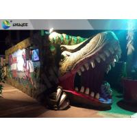 Cheap Electric Dynamic 7D Cinema System Dinosaur House In Entertainment Places for sale