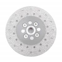 Cheap Double Sided Diamond Cutting Blade & Grinding Disc 5/8-11 Flange​ Diamond Grinding Wheel for sale