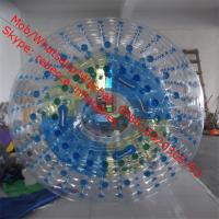 Cheap Transparent water roller ball water game Aqua fun park water zone for sale