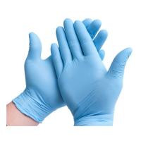 Cheap Great Elasticity Disposable Medical Glove 0.03kg Smooth Surface Natural Latex for sale