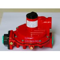 Cheap Red Color Fisher R622H LPG High Pressure Gas Regulator Use For Cooking , Long Life for sale