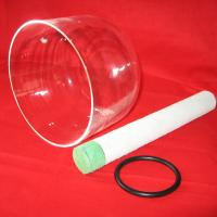 China clear crystal singing bowl 6-10 on sale