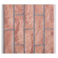 Cheap X Hollow Core Structure Plastic Brick Wall Panels , Decorative Plastic Wall Covering Sheets for sale