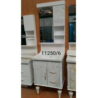 Cheap Thermal Transfer Printing Process PVC Bathroom Washbasin Cabinet With Painting for sale