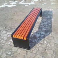 Cheap Eco Forest Bamboo Park Bench Customized Size E0 Formaldehyde Standard for sale