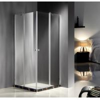 Cheap Square Corner Entry Glass Shower Cubicles 900 X 900 Free Standing Type for sale
