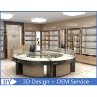 Cheap Round Glasses Jewellery Shop Counter Design Manufacturers for sale