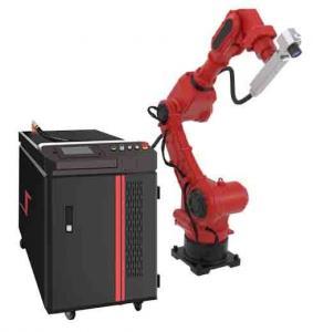 Cheap Reprogrammable Robotic 1000W 1064nm Fiber Laser Welder for sale