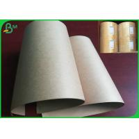 Cheap 50gsm 60gsm Disposable FSC And FDA Certificate Brown Kraft Paper In Street Food Market for sale