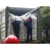 Quality ISO9001 / ISO14000 20ft PP woven dry bulk container liner for PET resin wholesale
