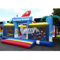 Cheap 0.55m PVC Material Inflatable Park Equipment Playground / Outdoor Holiday Beach Inflatable Playland for sale