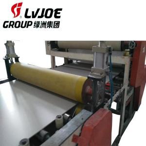 China Double Sides Gypsum Ceiling Board Lamination Machine With Edge Banding Machine on sale