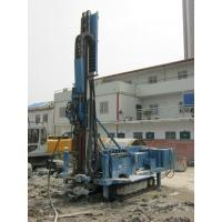 Buy cheap 140m - 180m Water Drilling Machine Holding Shackle Three Head Variable Hydraulic System from wholesalers