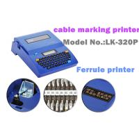 Buy cheap Auto Cutter wire labeling machine thermal barcode for petrochemical from Wholesalers