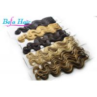 Cheap Elegante Goddess Micro Loop Ring Hair Extensions Body Wave Brazilian Virgin Hair for sale