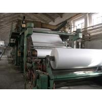 Cheap New Technology 1880mm Jumbo Rolls Tissue Paper Making Machine Toilet Paper Mill for sale for sale
