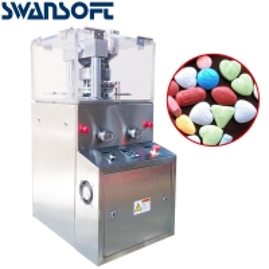 China Swansoft ZP-5/ZP-7 rotary tablet press machine pill maker tablet pressing machine on sale