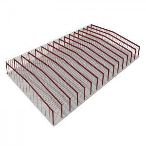 Cheap Prefabricated Workshop Steel Structure Aluminium Window Rolling Door for sale