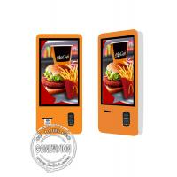 Cheap Restaurant 32 Inch Self service Kiosk 3G 4G 5G / Food Store LCD Payment Machine for sale