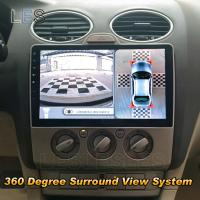 fit ford focus car parking system 360 degree surround view dvr with 4 hd camera universal of. Black Bedroom Furniture Sets. Home Design Ideas