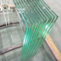 Quality 13.52mm Ultra clear tempered laminated safety glass panels for stainless steel wholesale