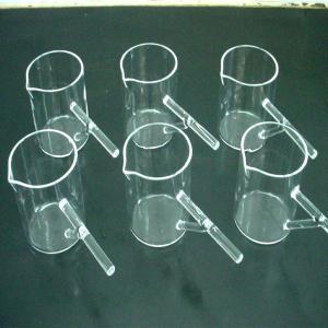 China Quartz Boiling Flasks /Flat Bottom on sale