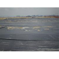 Cheap Polypropylene Woven Geotextile Fabric 80 / 70 KN Circle Loom For Foundation Building wholesale