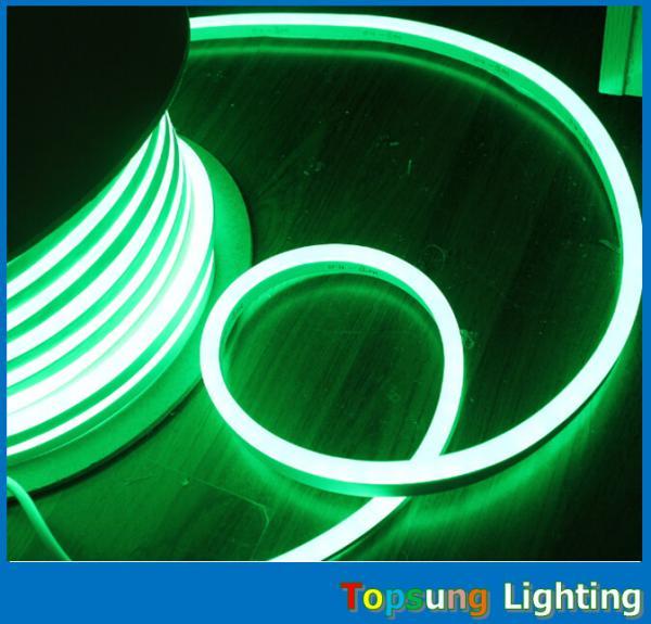 82' 25m Spool Micro Green Mini Led Neon Flex Lights 8*16mm