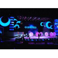 Cheap P3 Super HD Rental LED Displays , stage background led screen Die casting Cabinet for sale