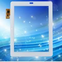 Cheap 9.7 / 10.1 inch I2C interface Projected Capacitive Touch Panel 10-Point Touch for sale