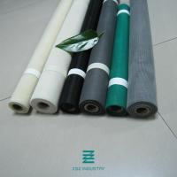 China Flat Weaving Pvc Coated Wire Mesh Rolls Grain Bidirectional Fiberglass Netting on sale