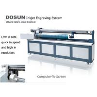 Buy cheap Digital Inkjet Rotary Engraving Machine , High Precision Textile Engraving equipment from wholesalers