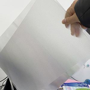 Cheap PET 200LPI/ 75/100/161 Lpi lenticular lens sheet 3D Film Lenticular Lens Sheet for injekt print and uv print for sale