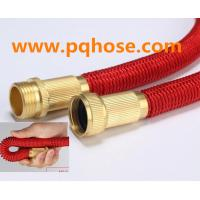 Best Expandable Hose Review Retractable Flat Garden Hose Double Layer Latex Hose Solid Brass