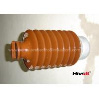 Cheap IEC Standard Caped Line Post Insulator 35KV With Metal Base / Tie Top wholesale