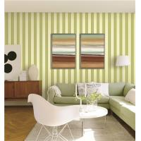 Cheap 70cm width fireproof waterproof mould proof stripe styles PVC vinyl wallpaper for sale