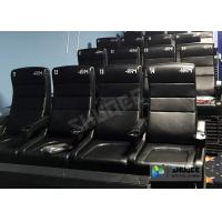 Cheap Commercial 4D Cinema Theater With Arc / Flat Screen TMS Systems Compatible for sale