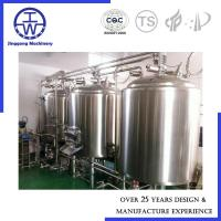 Cheap 2000L Mini Brewery Equipment , Draft Beer Equipment For Home Craft Beer Brewing for sale