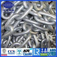 Cheap Galvanized Open Link Anchor chain- Aohai Marine China Larest Factory with IACS and Military Cert. for sale