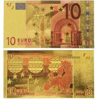 Cheap Euro 10 USD Gold Banknote Gold Money for sale