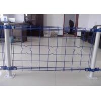 Quality decorative Double Loop Wire Fence/Double Roll Top Welded Fence/Double Wire Loop Yard Fence direct Anping factory wholesale